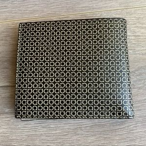 Salvatore Ferragamo Brown Printed Men's Wallet